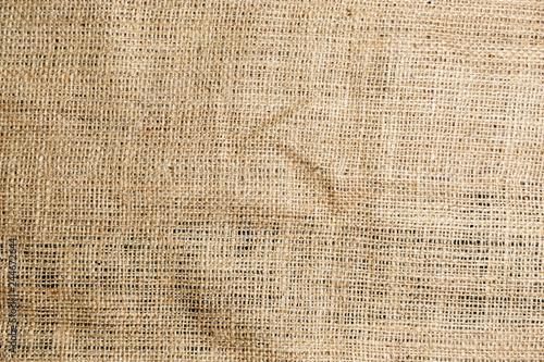 Fotografie, Obraz  The Sackcloth texture background