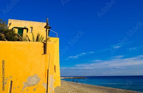 glimpse of the Ligurian coast of Varigotti