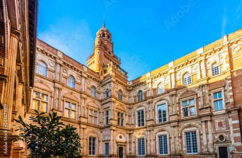 Tablou Canvas Hôtel d'Assézat à Toulouse, en Haute-Garonne en Occitanie, France