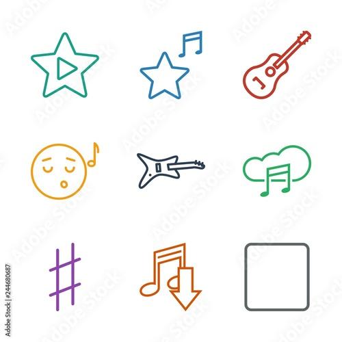 Fotografía  song icons