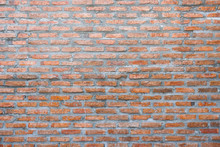 Brick Wall Background Texture,Abstract Background Material Of Industry Building Construction For Dark Retro Background