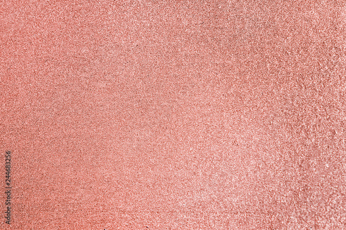 Valokuva  Close up of pink blush glitter textured background