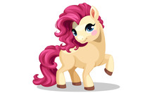 Beautiful Little Pony With Bea...
