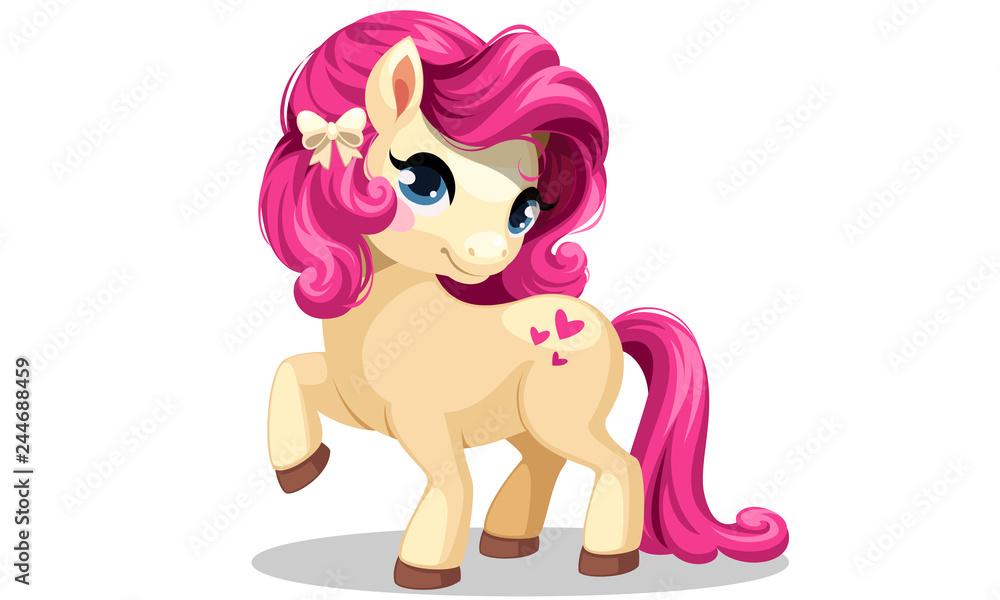 Fotografie, Obraz Beautiful little pony