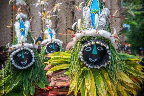 Photo  Mask festival Rabaul