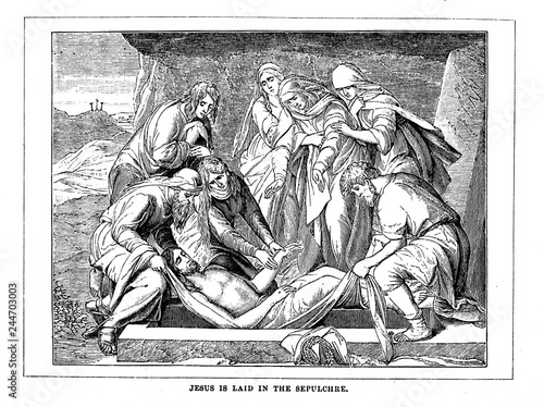 Valokuva The suffering and death of Jesus Christ