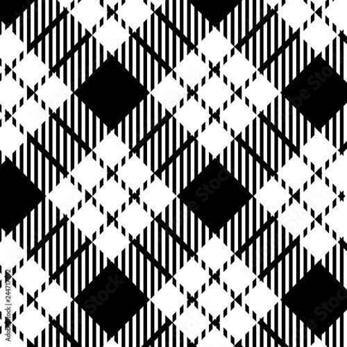 czarno-bialy-szkocka-krate-wzor-ilustracji-wektorowych-eps-10