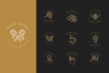 Vector Set Illustartion Logos ...