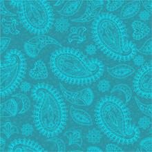 Seamless Pattern, Flower Motiv...