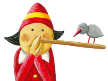 Pinocchio Says: Oops!, I Really Tell The Truth!