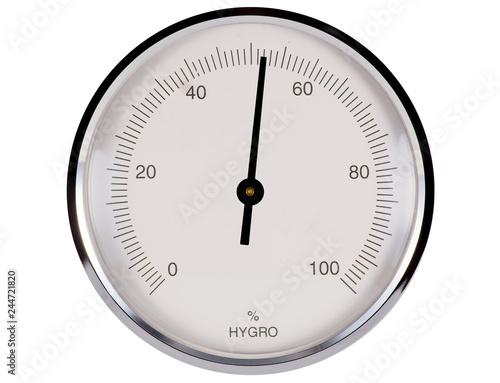Fotografia  Hygrometer 52%