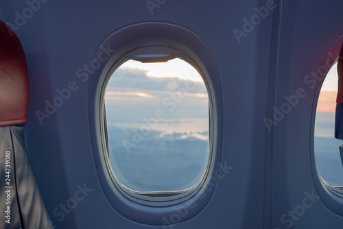 Magnificent Beautiful Scene Of Aeroplane Window Seat Buy This Stock Cjindustries Chair Design For Home Cjindustriesco