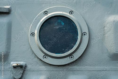 Valokuva  porthole hatch door.