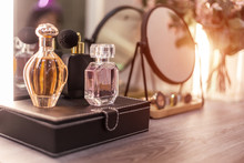 Perfume Bottle With Mirror And...