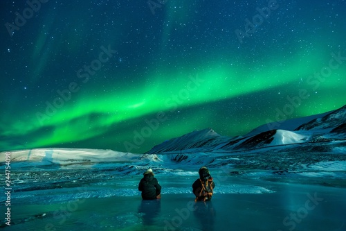 Photo  aurora