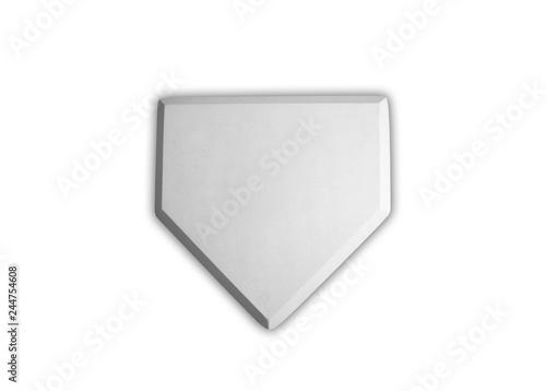 Fotografia  Baseball home plate base