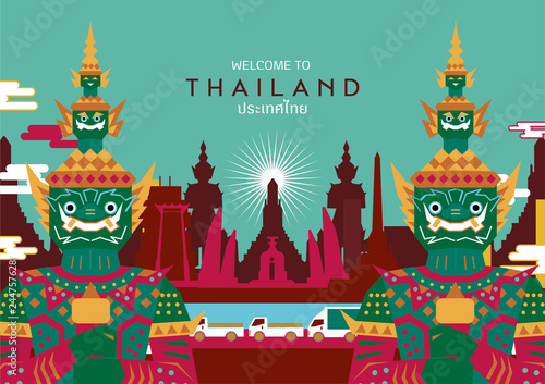 Tela Thailand wallpaper concept