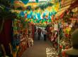 Leinwanddruck Bild - Cartagena, Colombia