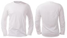 White Long Sleeved Shirt Desig...