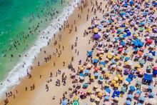 Rio De Janeiro, Brazil, Aerial...