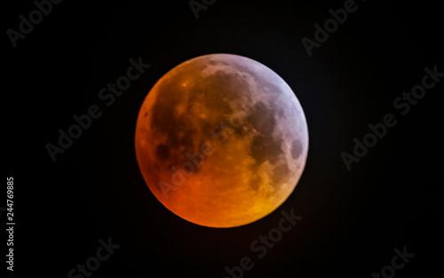 Wolf Blood Supermoon Eclipse