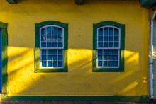 Authentic Windows Of The Portuguese Colonial Era In The Colonization Of Brazil Embu Of The Arts