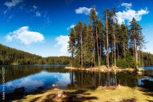 Lake in Rodopa mountain, Bulgaria