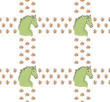 Horse Digital Illustration, Se...