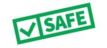 Safe Typographic Stamp