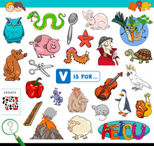 V Is For Educational Game For ...