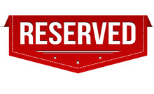 Reserved Banner Design
