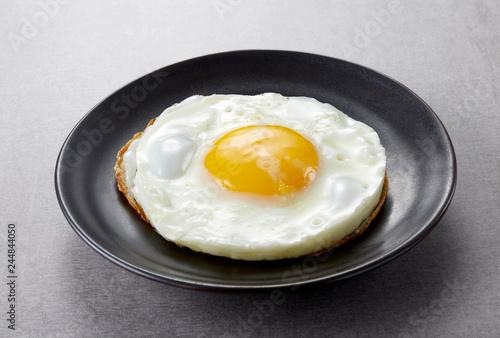 Fototapeta Delicious cuisine, fried egg obraz