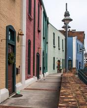 Architecture And Street Scenes Of Roanoke Virginia
