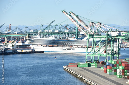 Port of Los Angeles in San Pedro, California