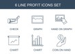 profit icons
