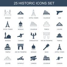 25 Historic Icons