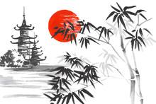 Japan Traditional Japanese Pai...