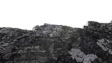 Big Heavy Of Rock Stone Isolat...