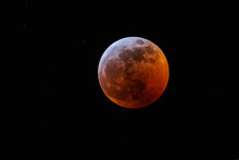 Eclipse And Super Blood Moon