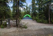 Riley Creek Campground, Denali National Park, Alaska, United States