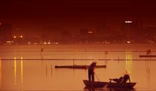 ベトナムの風景 ホン河
