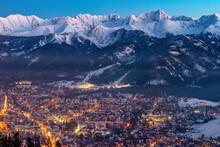 Zakopane By Night, Mountains T...