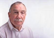 Portrait Image Of A Senior Man...