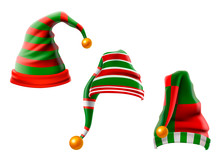 A Collection Of Funny Hats. El...