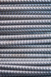 Texture of aluminum wire for armor rod cable. Abstract background