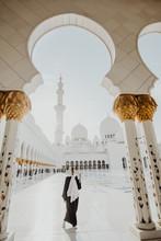 Traditionally Dressed Arabic W...