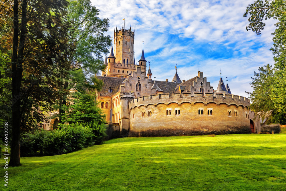 Fototapety, obrazy: Marienburg Castle, Lower Saxony, Germany