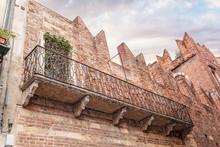 Romeo Balcony In Verona