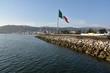 Mexican Flag in Ensenada, Mexico