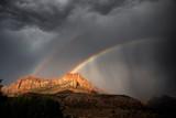 Fototapeta Tęcza - Zion Rainbow